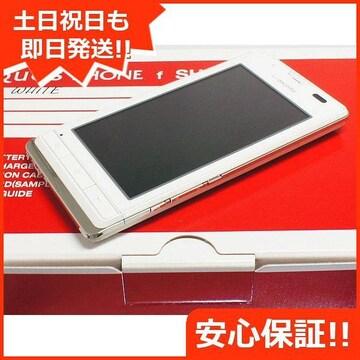 ■安心保証■新品未使用■SH-13C ホワイト■白ロム