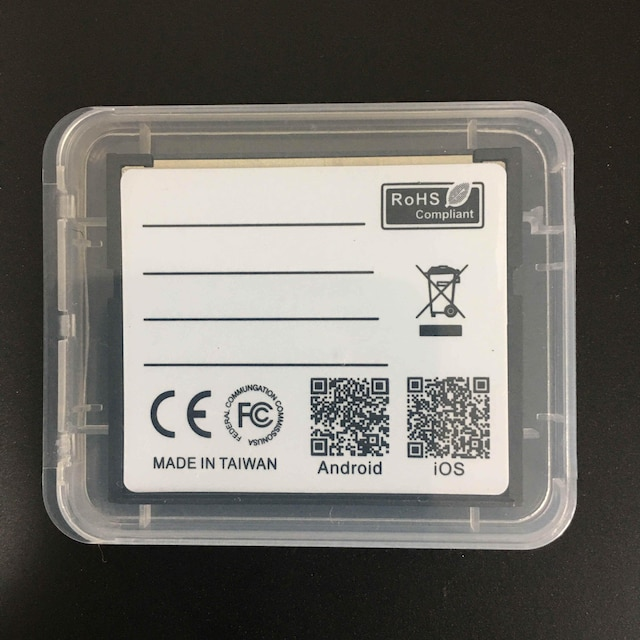 C014 Wifi MicroSD to CF 変換アダプター < 家電/AVの