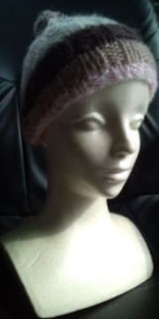 ベビー・子供用ニット帽☆風邪の防止、おしゃれに♪新品