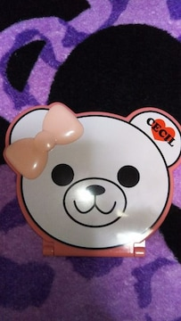 ☆セシル☆可愛ぃベア型ミラー新品未使用☆