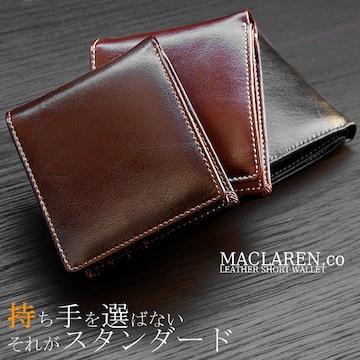 マクラーレン MACLAREN.co 折り財布 MC-600BK ブラック