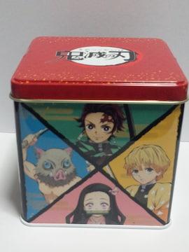 新品 鬼滅の刃 チョコクランチ缶(4面キャラクター柄)