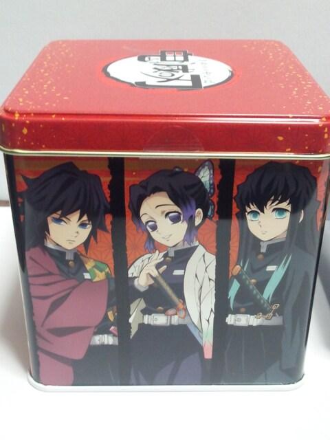 新品 鬼滅の刃 チョコクランチ缶(4面キャラクター柄) < グルメ/ドリンクの