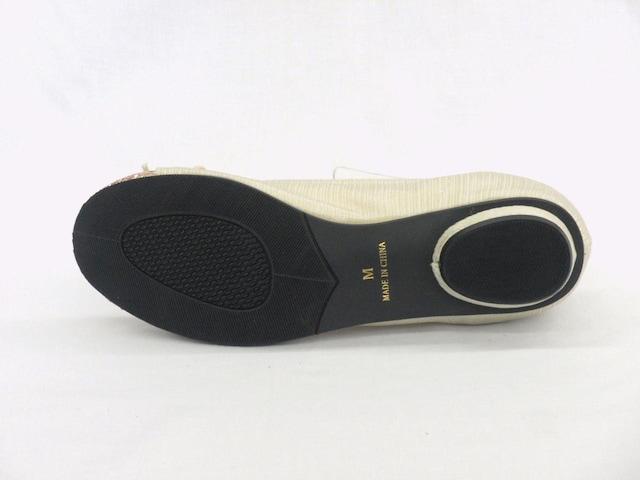 CAVOUR カボール 1076 ベージュ Mサイズ(23.5cm) バレーパンプス < 女性ファッションの