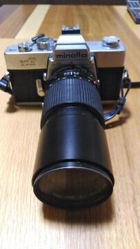 MINOLTA ミノルタ SR T スーパー カメラ 望遠レンズ 一眼レフ