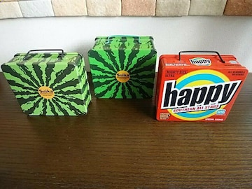 SAS祭り�Iサザンオールスターズ『スイカ缶+happy缶』缶のみ3個