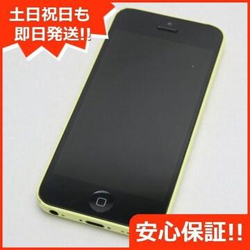 ●安心保証●良品中古●DoCoMo iPhone5c 32GB イエロー●