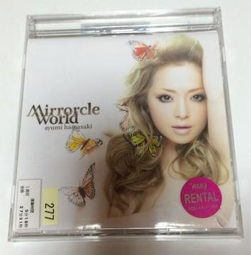 ★浜崎あゆみ『Mirrocle World/Depend on you』レンタル落ち★