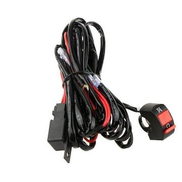 汎用フォグランプリレー配線キット 300Wまで対応可能