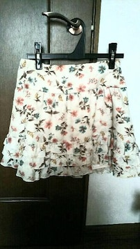 ☆アプワイザーリッシュ花柄ミニスカート☆