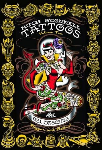 刺青 MITCH O'CONNELL TATTOOS Volume Two  【タトゥー】   3  < ホビーの