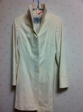 ビアッジョ★白コート★1美品