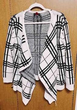M】�Hダチュラニット カーディガン 羽織り