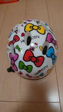 キティちゃん 子供用ヘルメット