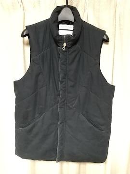ノンネイティブnonnative中綿ベストサイズ2黒ブラックドメスティックダウンベスト中古服