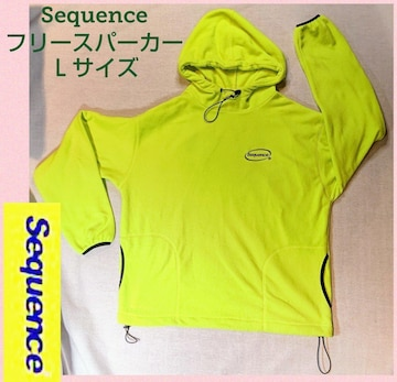 Sequence★シーケンス★パーカー★プルトップ★プルパーカー★黄