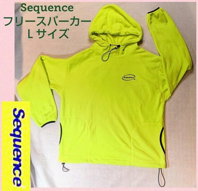 Sequence★シーケンス★パーカー★プルトップ★プルパーカー★黄  < 男性ファッションの