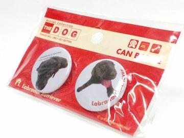 送定180円THEDOG犬缶バッヂBadgeバッチラブラドールレトリバー文具25kg30kg