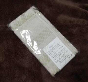日本製 UVカット加工 シルケットマフラー 綿100%