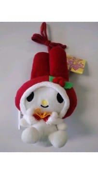 新品☆マイメロディクリスマスバージョン♪紐付お財布再々値下