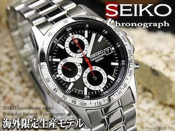 税込!海外限定生産モデル【SEIKO】セイコー1/20秒高速クロノRD
