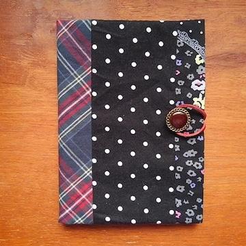 おくすり手帳 or 母子手帳ケース (手作り・手縫い)
