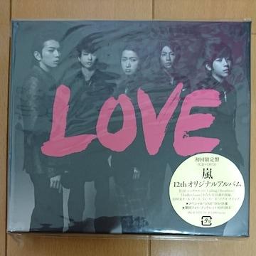 ARASHI.LOVE.初回限定盤新品未開封です。