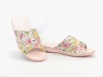 Pansy パンジー 室内履き スリッパ 8690 Mサイズ(23.5cm) ピンク