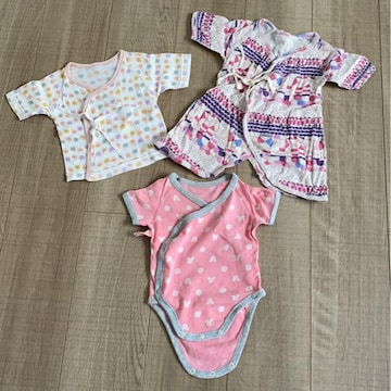 新生児〜女の子肌着まとめ売り50〜60OCEAN&GROUND西松屋UNIQLO