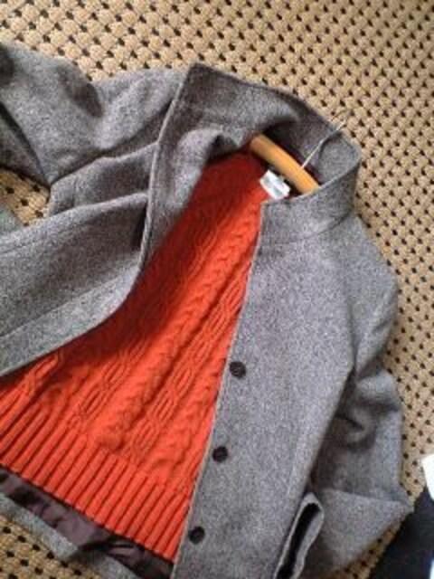マックスマーラ☆MaxMara☆ウィークエンド★高級ニット半袖セーター☆テラコッタ☆超美品 < ブランドの