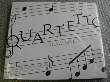 NEWS/LIVE TOUR 2016 QUARTETTO【初回盤】Blu-ray:4枚組/新品