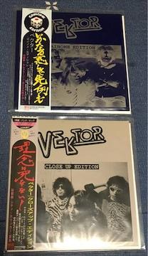 VEKTOR 7インチレコード 2枚セット売り ベクター パンク