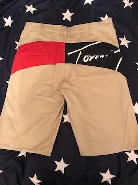 tommy L size ウエスト平置き→45cm バックロゴ パンツ