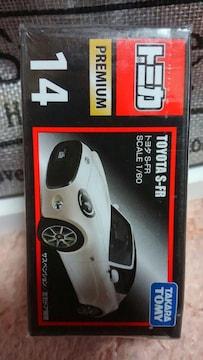 トミカ プレミアム 旧14 トヨタ S-FR 未開封 新品 販売終了品