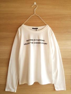 新品INGNI*ロゴ長袖Tシャツ*未使用イング*レディース