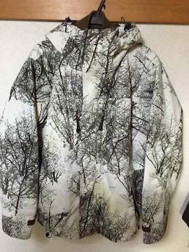 限定モデルNORTH FACE snow real  tree 柄 マウンテンパーカー
