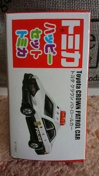 マック ハッピーセット トミカ トヨタ クラウン パトロールカー 未使用 非売品 ビニール未開封