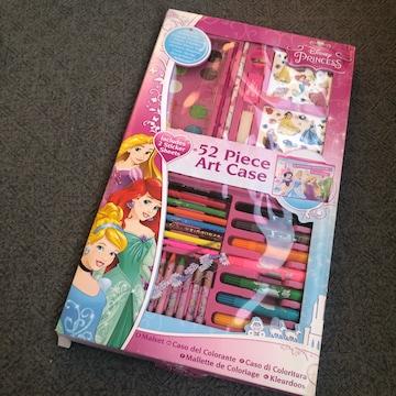 新品 日本未発売 ディズニー プリンセス  アートセット