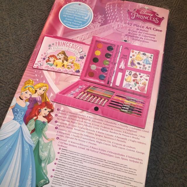 新品 日本未発売 ディズニー プリンセス  アートセット < おもちゃの