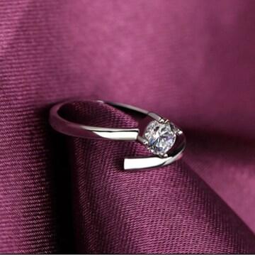 売り切れ御免!czダイヤモンド リング 指輪 高品質 925
