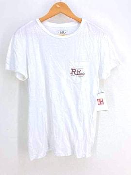 RRL RALPH LAUREN(ダブルアールエル ラルフローレン)プリントクルーネックTシャツクルーネックTシャ