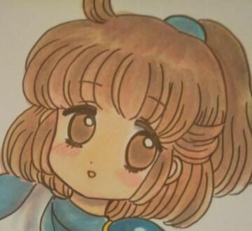 自作、手描きイラスト☆アルル