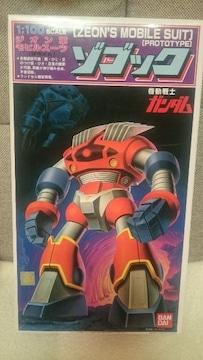未開封 ガンダム ガンプラ ゾゴック 試作メカ 1/100 再版品 1995