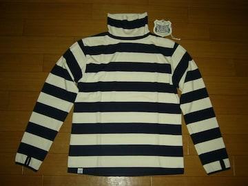 新品バラブシュカBALABUSHKAカットソー1紺白ボーダーロンTシャツ