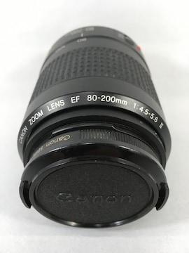 ■【CANON/ZOOM LENS EF 80-200mm 1:4.5-5.6 �U】袋付き■
