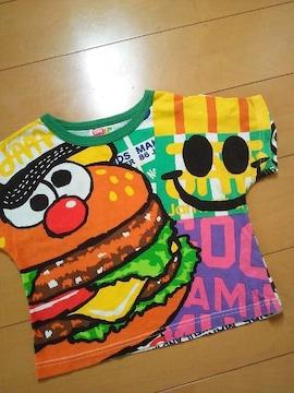 中古バカポテどあっぷTシャツ100緑JAM