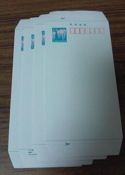 郵便書簡(ミニレター)4枚新品未使用★ポイント切手金券可