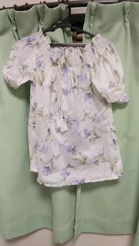花柄🌸半袖カットソー