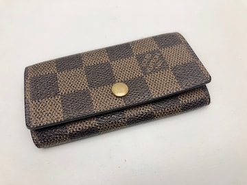 D072 LOUIS VUITTON ルイヴィトン ダミエ 4連キーケース