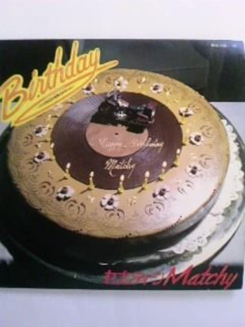 近藤真彦 Birthday レコード2枚 17歳誕生日記念 フォトブック付 < タレントグッズの